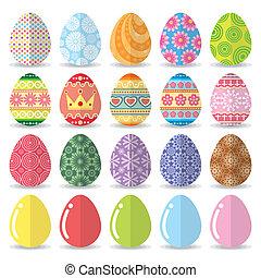 卵, セット, イースター