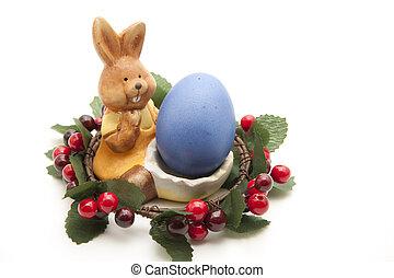 卵, 花輪, イースター, ベリー