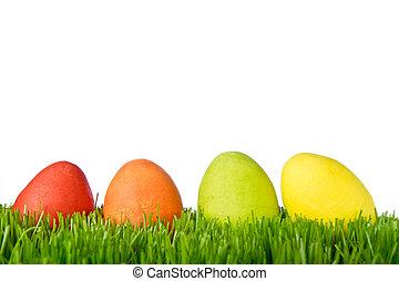 卵, 草, イースター