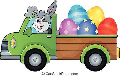 卵, 1, 主題, トラック, イースター, イメージ