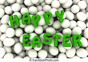 卵, colorless, イースター