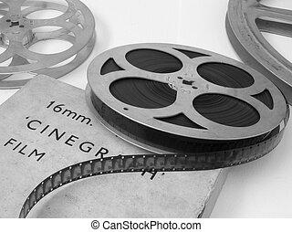 卷起, 電影, 16mm