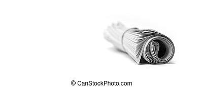卷, 报纸