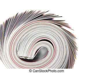 卷, 杂志,