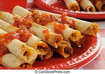 卷, tacos