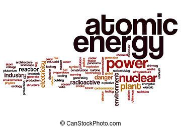 原子 エネルギー, 単語, 雲