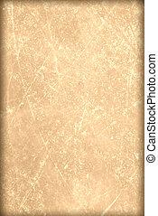 原稿, 古い, ペーパー, , 背景, グランジ, 羊皮紙, パピルス