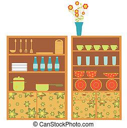 厨房, 家具