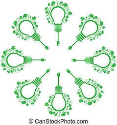 去, 概念, 綠色