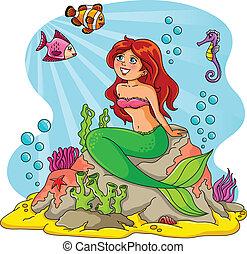 友人, mermaid