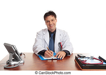 友好, 關心, 醫生