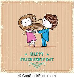 友情, 日, 幸せ