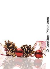 反射作用, クリスマスの 装飾