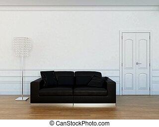 反響室, 家具