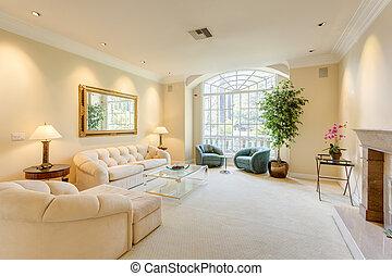 反響室, 贅沢, 家