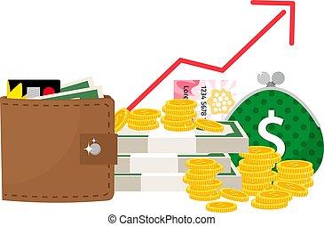 収入, 概念, 増加