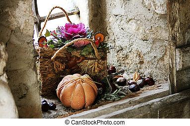 収穫, 装飾