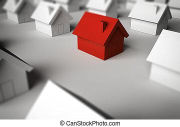 发现, 提供, 3d, 销售, 家