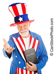 叔父, -, 歓迎, sam, 聖書