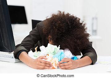 取り乱している, 作家, ∥あるいは∥, 女性実業家