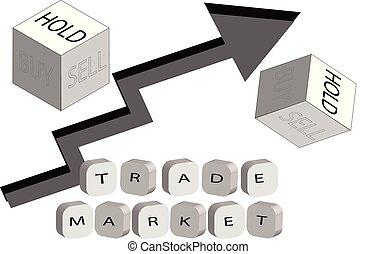取引しなさい, 市場