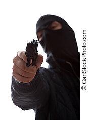 取得, 殺人者, ターゲット, 銃