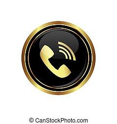 受信機, 電話, アイコン