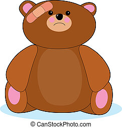 受傷害, 熊, teddy