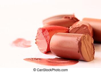 口紅, multi-coloured, スクラップ