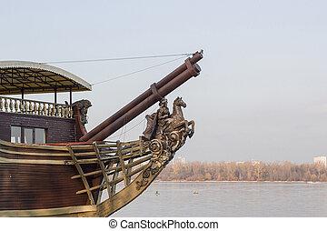 古い, てんま船
