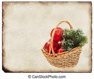 古い, クリスマスカード