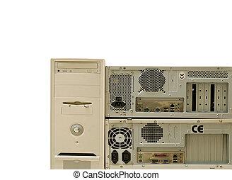 古い, コンピュータ, ∥ために∥, 電子, リサイクル