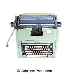 古い, タイプライター