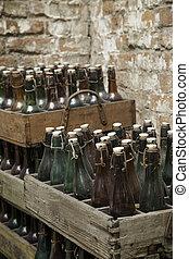 古い, ビール瓶