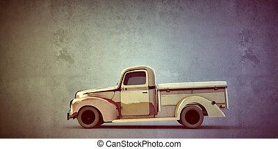 古い, ピックアップ トラック