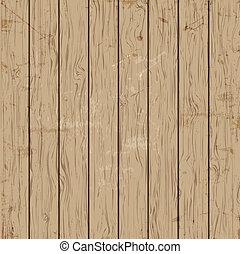 古い, ベクトル, 木製の肉質