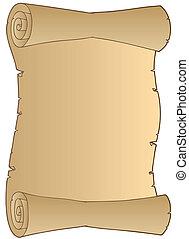 ペーパー巻き物クリップアートベクターグラフィック29107 ペーパー
