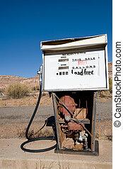 古い, ポンプ, ガス