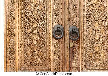 """古い, 分解しなさい, """"culture"""", パビリオン, 刻まれた, ドア, vvc"""