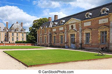 古い, 博物館, フランスのフランス, 建築, 大邸宅, europe.
