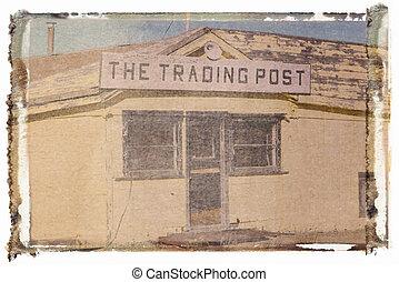 古い, 取引, post.