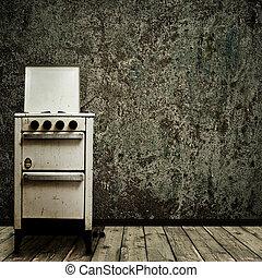 古い, 台所