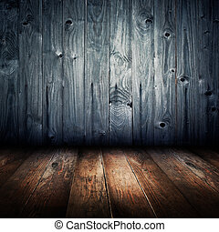 古い, 型, 手ざわり, 木, 内部, 背景, 家