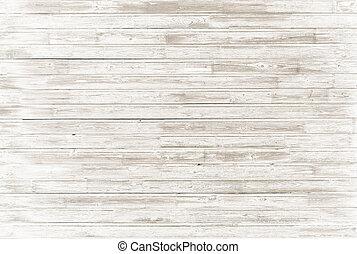 古い, 型, 白, 木, 背景