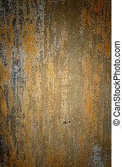 古い, 壁, セメント, 手ざわり, 背景, グランジ