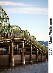 古い, 州連帯, 橋, 中に, オレゴン