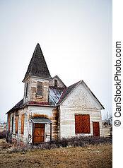 古い, 捨てられた, 教会