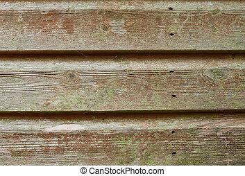 古い, 木製の肉質, 背景, グランジ, 材木