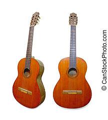 古い, 木, ギター, クラシック