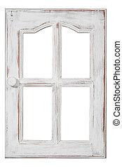 古い, 木, 窓
